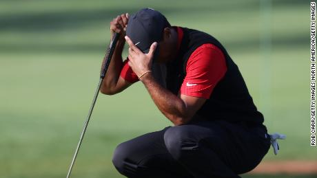 Tiger Woods cards a 10 on notorious par-three hole at Masters