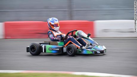 Los karts Electroheads Motorsport se fabrican con la misma potencia y especificaciones, por lo que el talento es el único diferenciador entre los competidores.