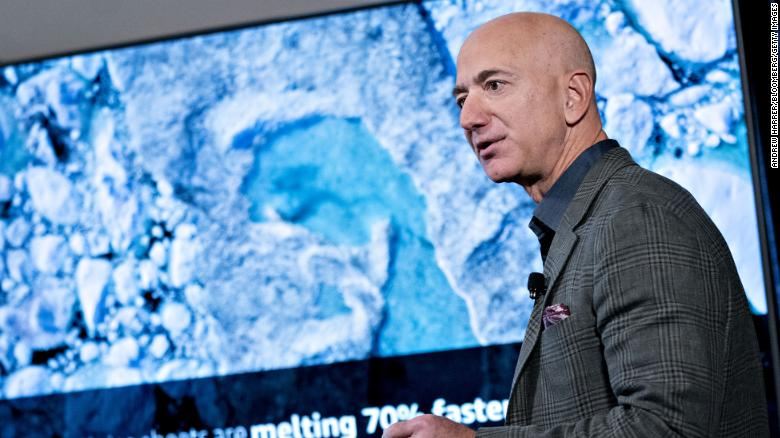 Jeff Bezos announces nearly $  800 million in grants to 16 groups fighting climate change