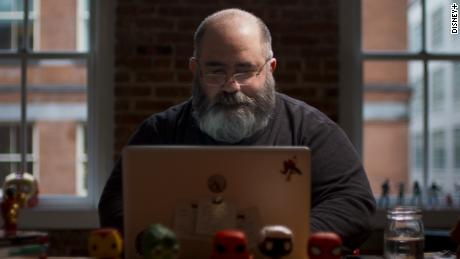 Comic-book writer Dan Slott is featured in an episode of 'Marvel's 616' (Disney+).