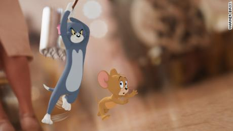 Tom & Jerry teaser posters released ahead of Tuesday's trailer