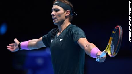 Rafael Nadal could barely have played better in the loss.