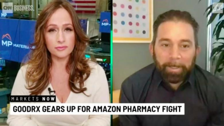 GoodRx Co-CEO says Amazon Pharmacy isn't a competitor