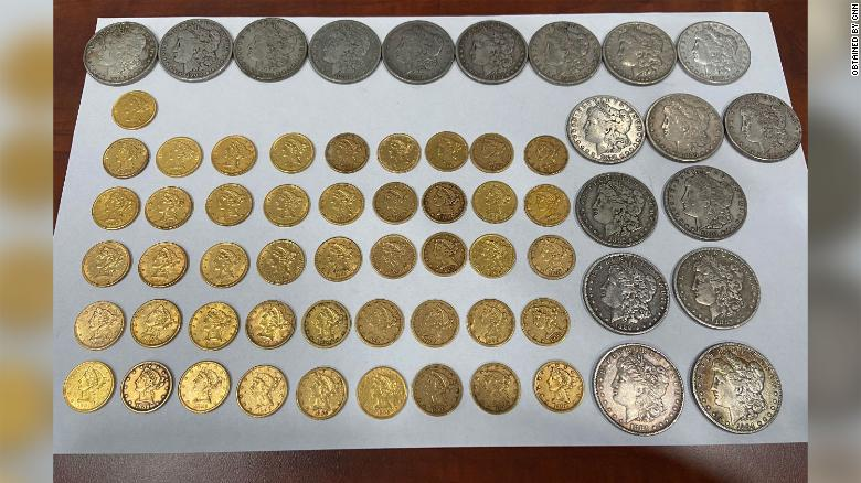 New homeowners found coins worth $  25,000 in a drawer -- and then gave them back