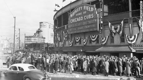 Wrigley Field has been home to the Chicago Cubs since 1916.
