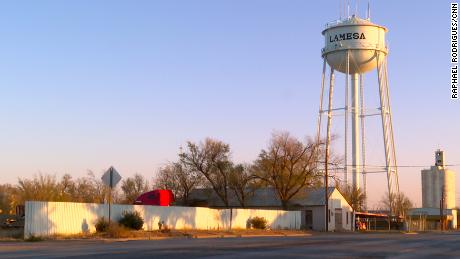 The small town of Lamesa has one hospital. More than half of its 21 beds are occupied by Covid-19 patients.
