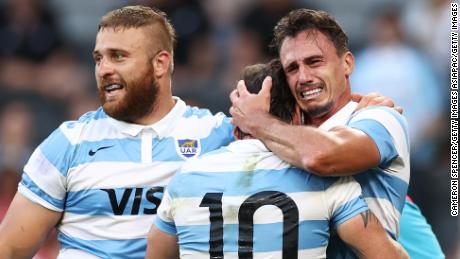 Gritty Argentina fight back to hold Australia at Tri Nations