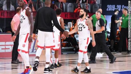 NBA's Toronto Raptors forced to leave Canada to begin season in Florida