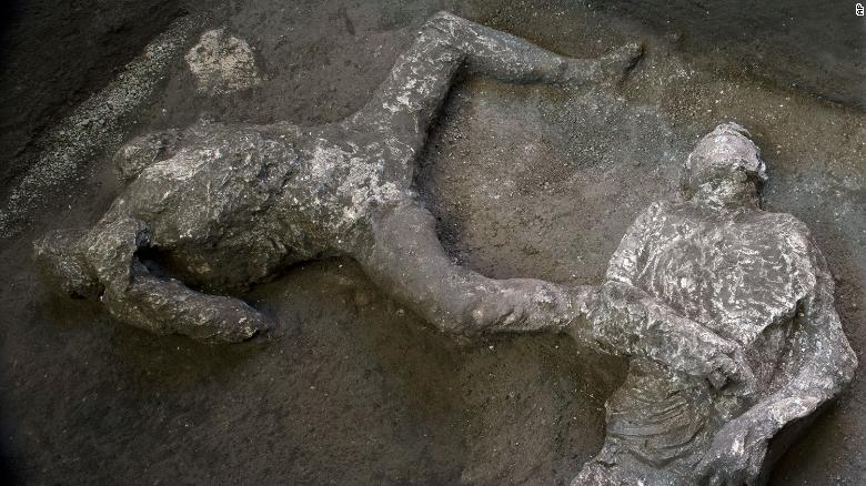 Bodies of rich man and slave discovered within Pompeii ruins