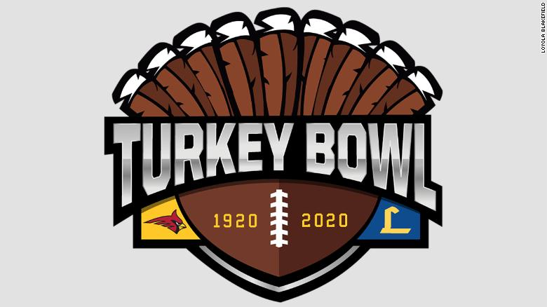 Rival high schools cancel their annual 'Turkey Bowl' for first time in 100 年由于Covid-19
