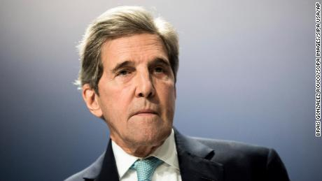 John Kerry served as Barack secretary of state during Barack Obama's second term.