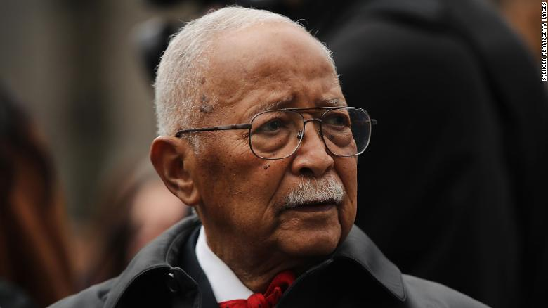 Former New York City Mayor David Dinkins, the city's first African American mayor, dies at 93