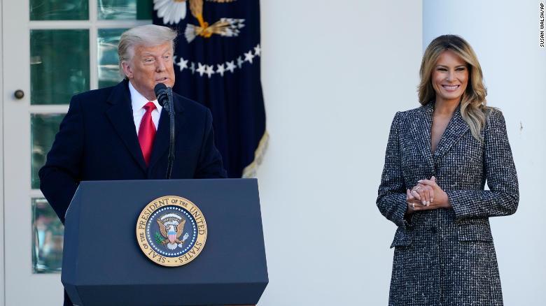 President Trump Pardons Turkey Named Corn