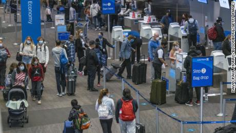 Thanksgiving week air travel is expected to set a pandemic era-record despite officials' calls to stay home