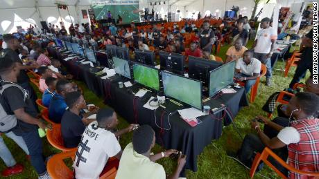 This was the scene in 2018, at an esports festival in Abidjan, Ivory Coast.