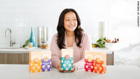Denise Woodard founded Partake after her daughter's struggle with food allergies and the lack of allergen-free food options on grocery aisles.