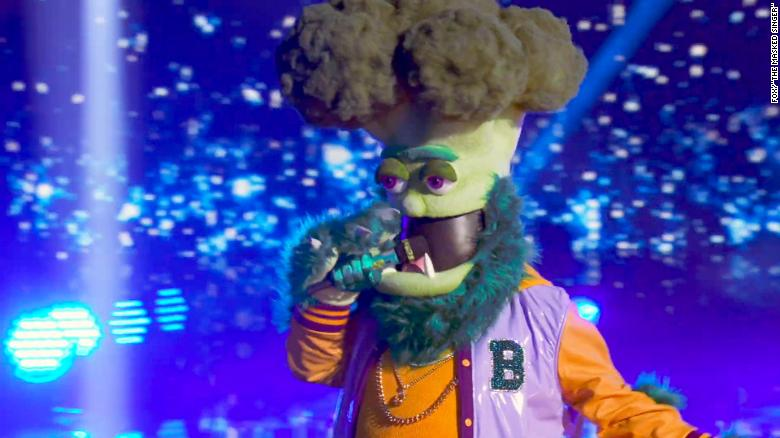 'The Masked Singer' reveals the legend behind Broccoli
