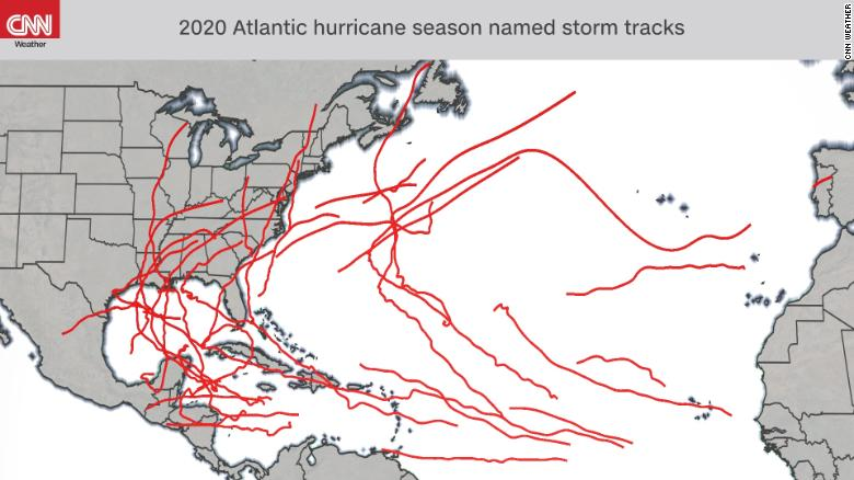Historic 2020 Atlantic hurricane season comes to a close
