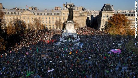 Protests take place across France against proposed security law
