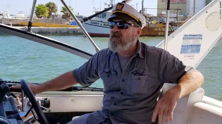 Missing boater is found clinging to his capsized boat off Florida's east coast