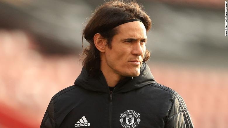 Manchester United's Edinson Cavani apologizes for social media post as FA investigates