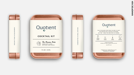 Quotient's marketing team will get  DIY cocktail kits for its holiday party.