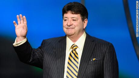 Eddie DeBartolo Jr. speaks onstage during the 5th Annual NFL Honors in February 2016 in San Francisco.