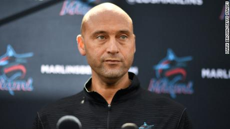 Derek Jeter, who owns a 4% stake in the Miami Marlins, is the only Black owner of an MLB team.
