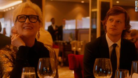 """Meryl Streep (left) and Lucas Hedges (right) star in """"Let Them All Talk."""""""