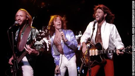 """Learn about (from left) Maurice, Robin and Barry Gibb in """"The Bee Gees: How Can You Mend a Broken Heart,"""" premiering Saturday on HBO."""