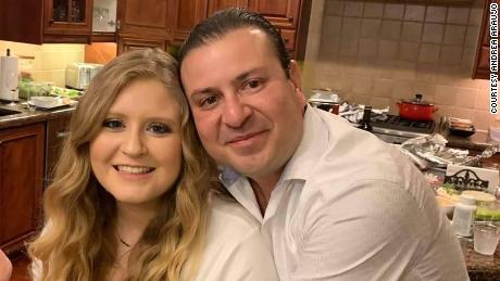 Andrea Araujo and her father Carlos Araujo-Preza.