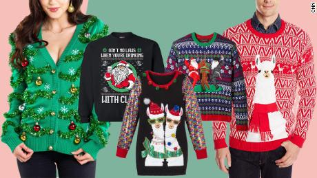 22 ugly Christmas sweaters for your holiday Zoom parties (CNN Underscored)