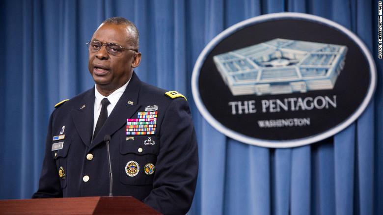 Biden, Harris formally introduce Lloyd Austin as first Black Defense Secretary nominee