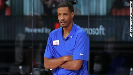 Stephen Silas is in his first year as a head coach at the Rockets, but was previously an assistant coach at the Dallas Mavericks for two years.