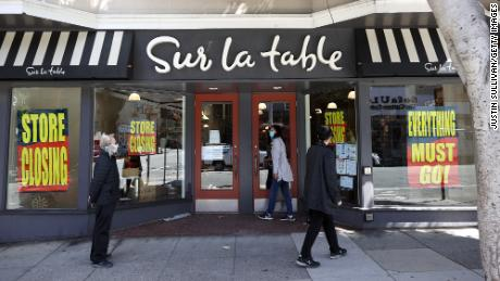 Sur La Table closed half of its stores this year.