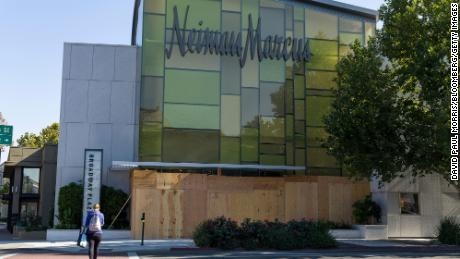 Neiman Marcus closed five stores during its bankruptcy process.