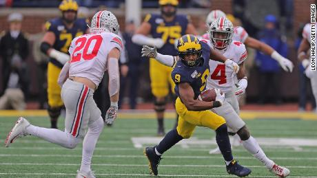 'The Game' between Michigan and Ohio State has been canceled for the first time in over 100 年