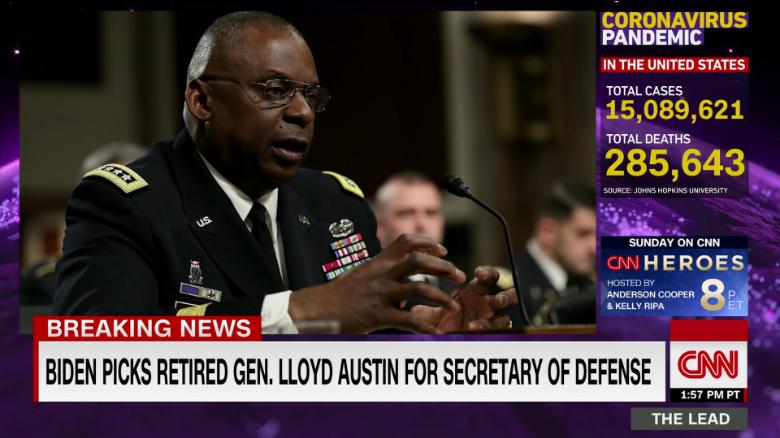 Biden hails Austin as Pentagon pick, nods to worry about waiver