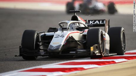 Nikita Mazepin will drive for Haas F1 team next season.