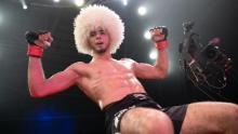 The refugee following in the footsteps of Khabib Nurmagomedov
