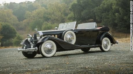 This 1932 Hispano-Suiza J12 Dual-Cowl Cabriolet sold for $2.4 million at a Gooding & Co. auction earlier this year.