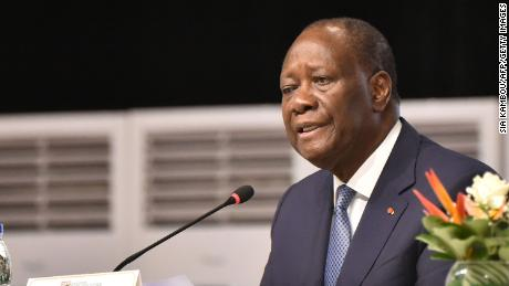 Ivorian President Alassane Ouattara says he does not understand why many Ivorians are upset he decided to run for a third term in office.