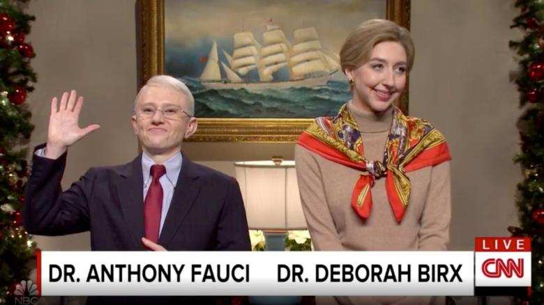 'SNL' brings out its own Dr. Fauci to talk about the coronavirus vaccine roll out