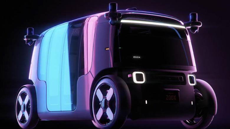 Amazon's Zoox Unveils Autonomous, Multidirectional Electric 'Robo-Taxi'
