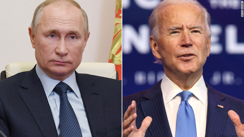 Biden speaks with Putin for first time as president