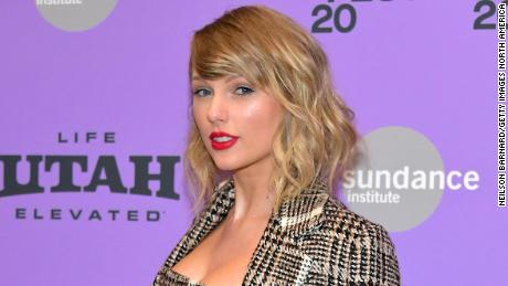 Taylor Swift will be awarded the Gracie Grand Award on Tuesday.