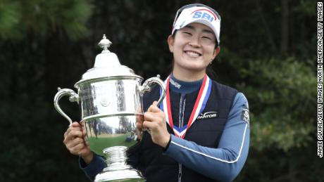 US Women's Open final round suspended until Monday