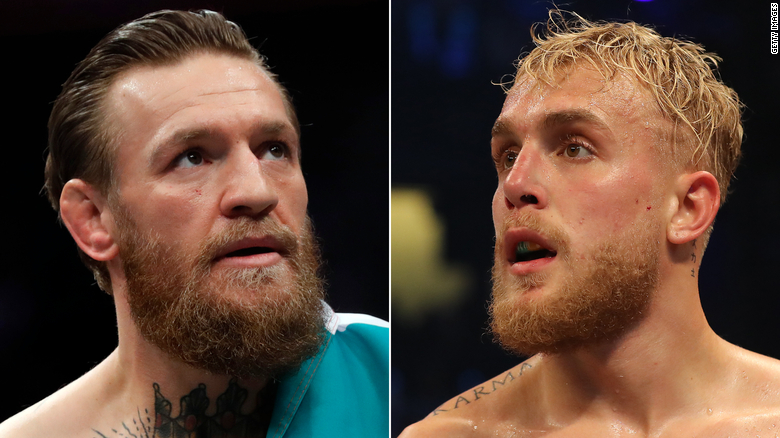 YouTuber Jake Paul offers UFC fighter Conor McGregor $  50 million to box him