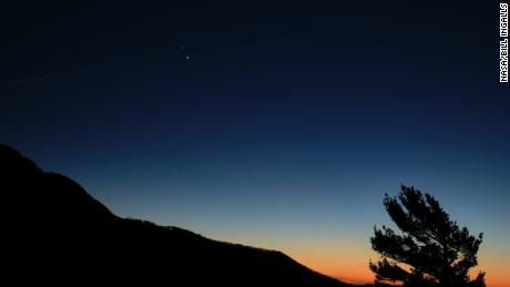 Watch for the 'Stella di Natale' as Jupiter and Saturn come closer than they have in centuries