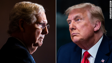 Trump goes after McConnell in scathing letter